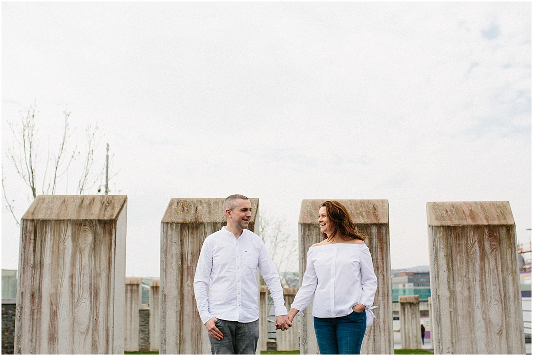 Engagement Shoot at Ebrington Square We Can Be Heros Photography_0927