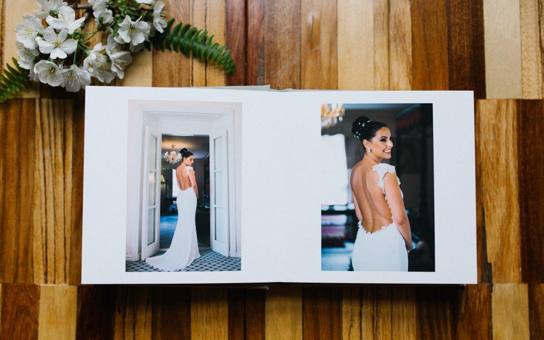 How to put together a killer wedding album